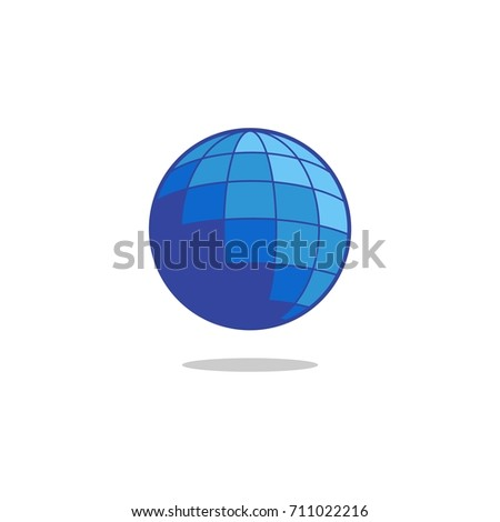 globe logo design template iv