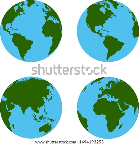 globe map / globe worldwide
