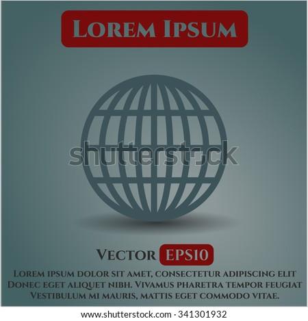 Globe (website) symbol