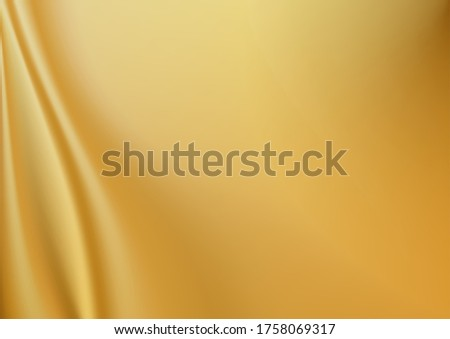 gloden silk vector background. Smooth elegant golden silk or satin luxury cloth texture can use as wedding background. Luxurious background design. In Sepia toned. Retro style.fabric silk texture.