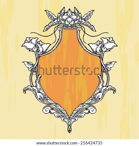 glory art nouveau shield