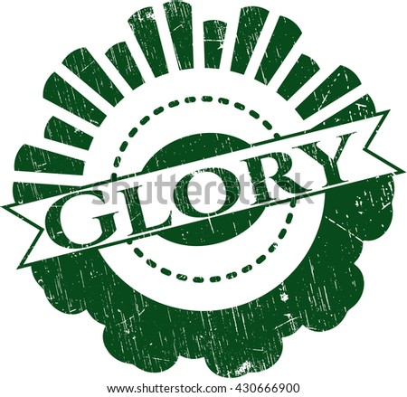 Glory rubber grunge seal