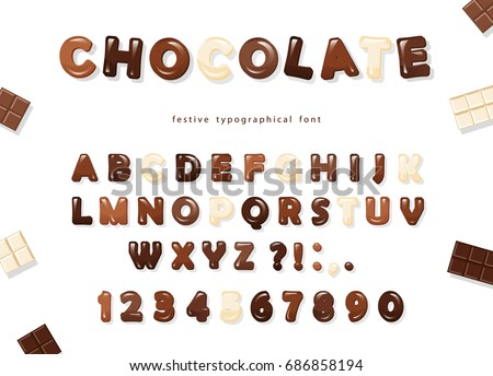 glossy abc letters and numbers