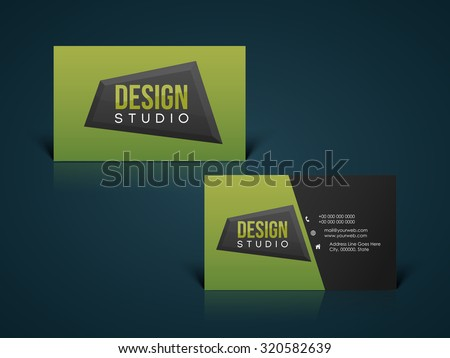 Modern business card for graphic designer vector download free glossy horizontal business card visiting card name card or calling card set for your reheart Choice Image