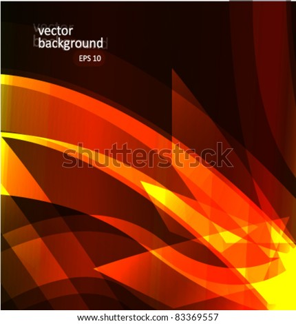 Glow abstract background vector illustration