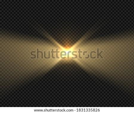 glow beacon beam effect