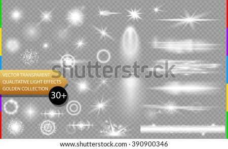 glow isolated white transparent