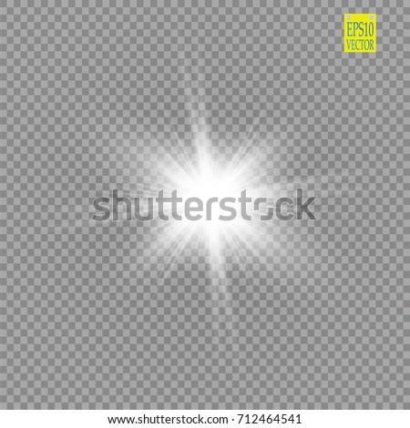 glow light effect starburst