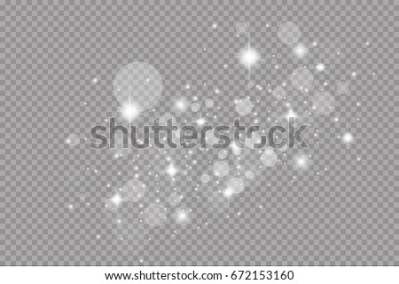 glow light effect vector