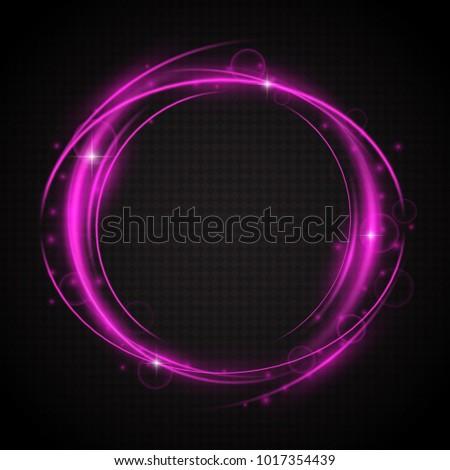 glow light swirl trail slow