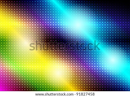 Glowing Abstract Party Background