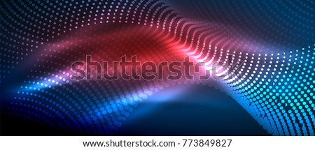 stock-vector-glowing-abstract-wave-on-dark-shiny-motion-magic-space-light-vector-techno-abstract-background