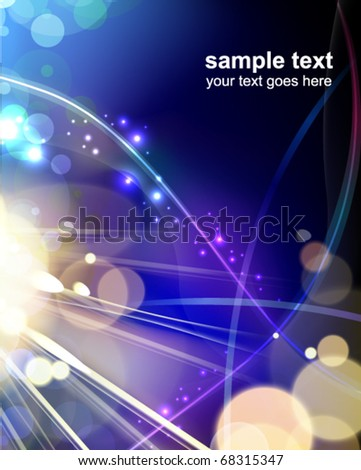 glowing background - vector illustration
