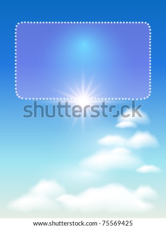 glowing background with