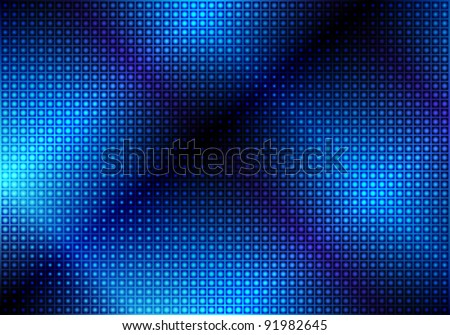 Glowing Blue Abstract Party Background