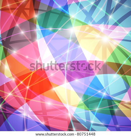 Glowing colorful abstract background, vector eps10 format