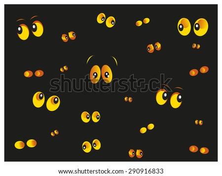 glowing in the dark spooky