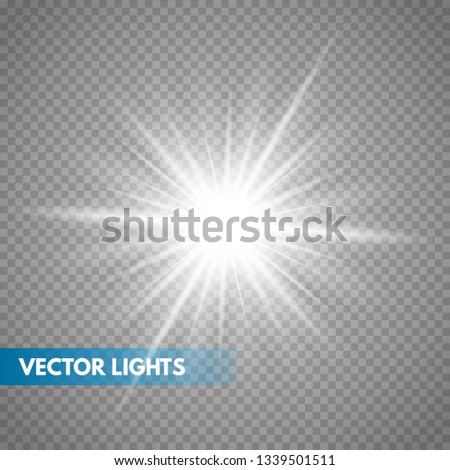 Glowing light effect on transparent background.Vector illustration EPS10Glowing light effect on transparent background.Vector illustration EPS10