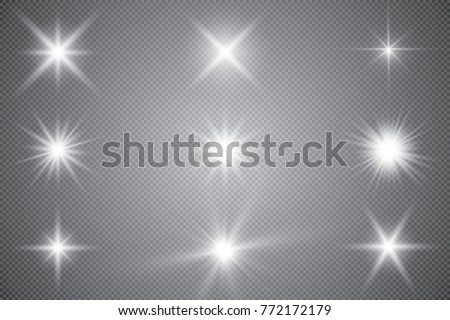 glowing lights effect  flare