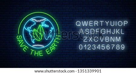 blue earth background with text space - Download Free Vector