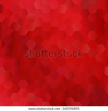 glowing red background made of