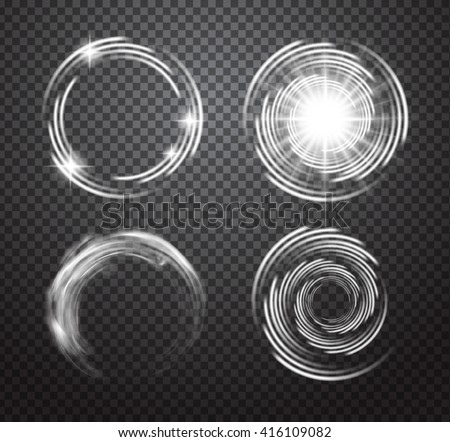 glowing special vector light