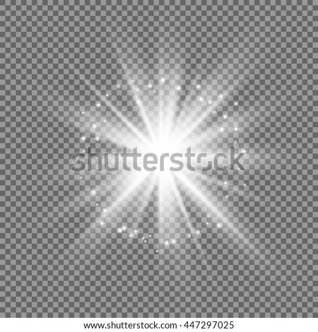 glowing vector light effect
