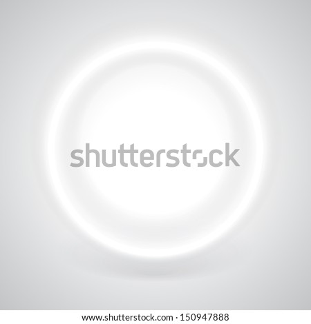 Glow Background Circles Glowing White Circle With