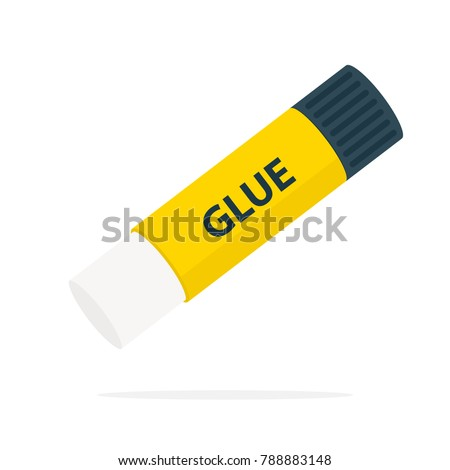 Glue stick icon. Clipart image isolated on white background