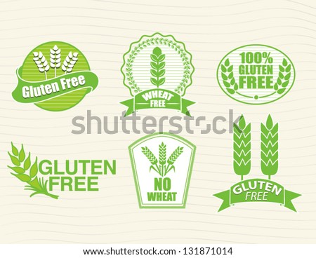 Gluten Free and Wheat Free Labels