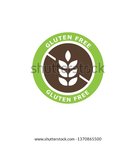 Gluten free icon. Vector illustration.