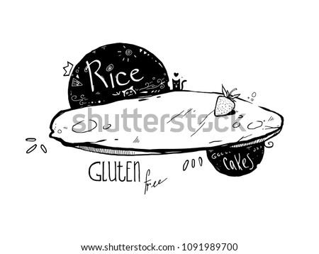gluten free rice flapjack