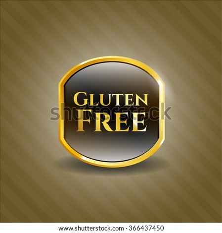 Gluten Free shiny emblem