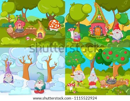 gnome dwarf as leprechaun and