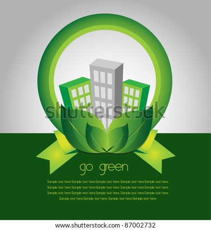 go green city environment
