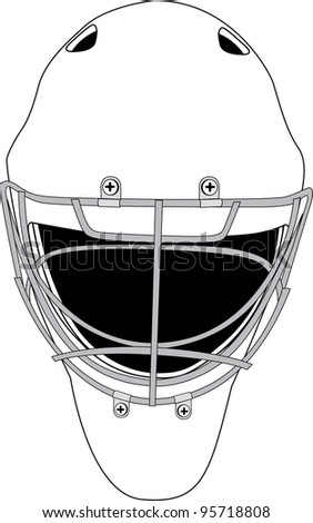 bauer goalie mask template - blank goalie masks