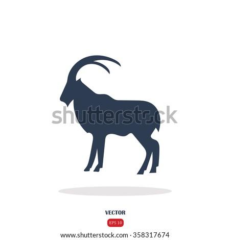 goat icon goat icon vector