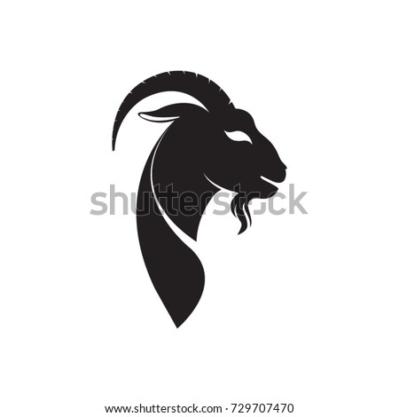 Goat vector drawing