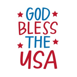 God Bless the United States of America