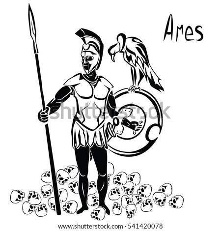 god of war ares or mars with
