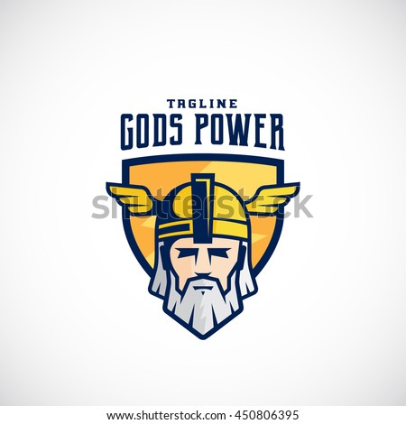 gods power vector sport team or