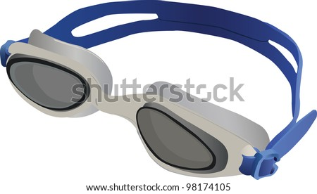 Goggles Vector Goggles For Swimming Vector