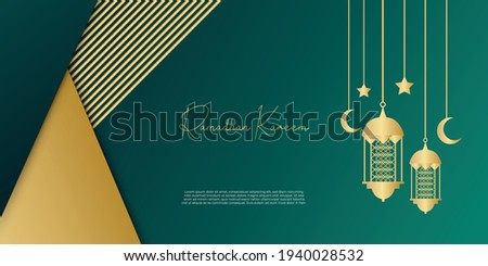 gold and dark green tosca