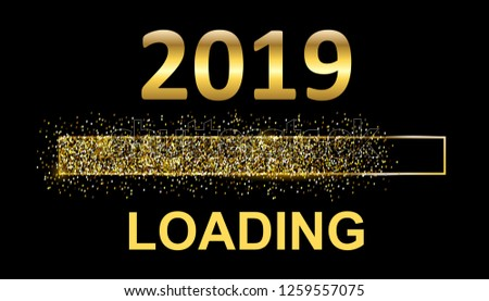Gold Blaster Load Bar 2019. Expectation of the holiday – for stock #1259557075