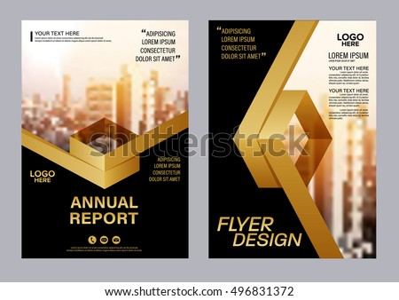 booklet magazine cover page creative template design download free