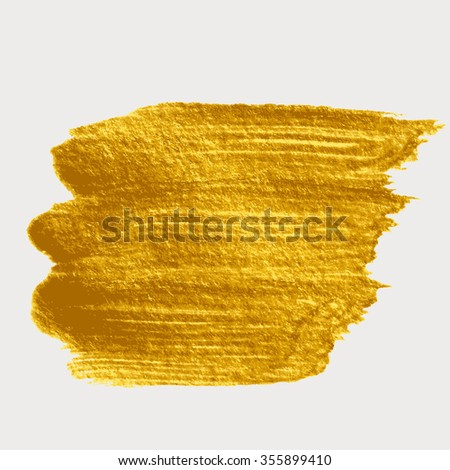 Gold brush strokes for the background of poster. #355899410
