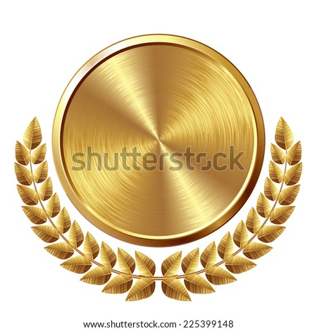 Gold Gradient Vector Stock-vector-gold-brushed