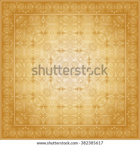 gold carpet with gold pattern