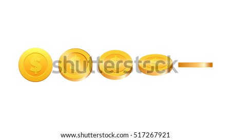 gold coins illustration coins