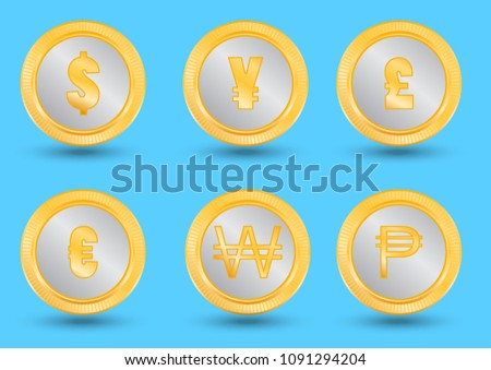 Country Currencies Download Free Vector Art Stock Graphics Images